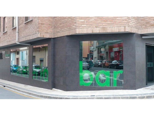reforma de local pamplona cafeteria